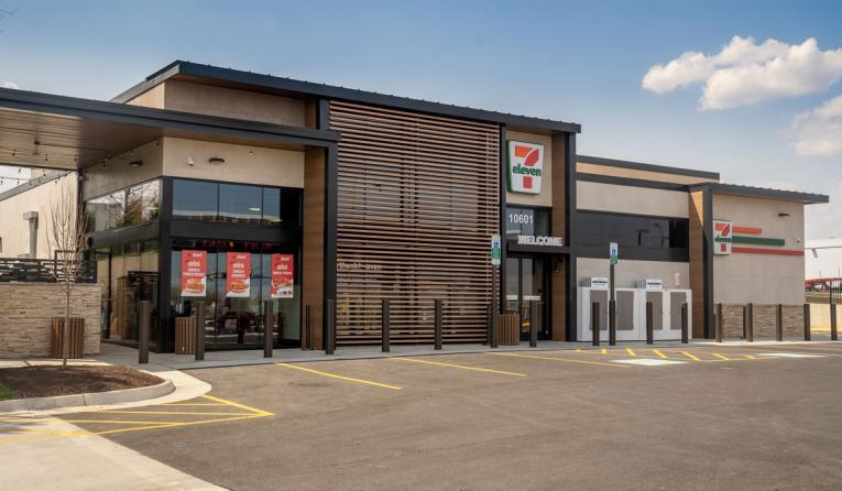 7-Eleven storefront.