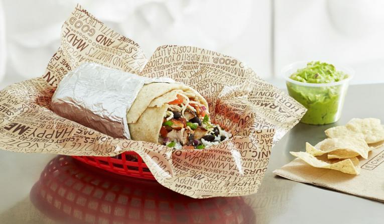 Chipotle burrito.