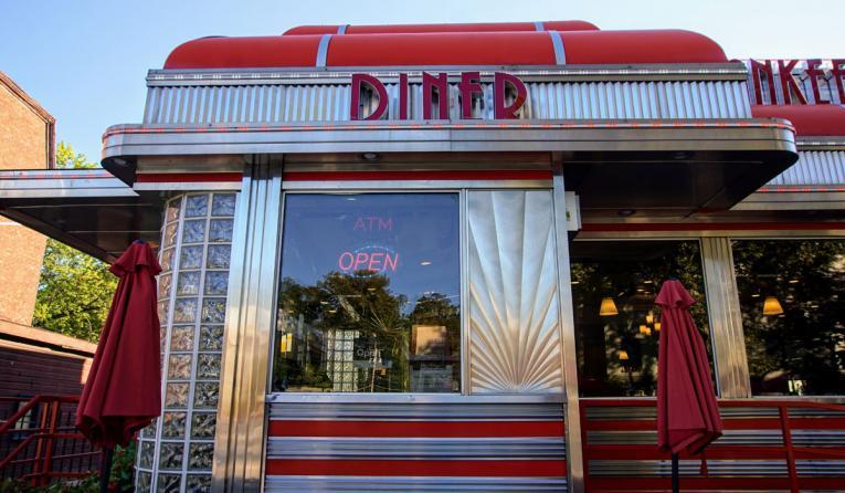Image of a diner.