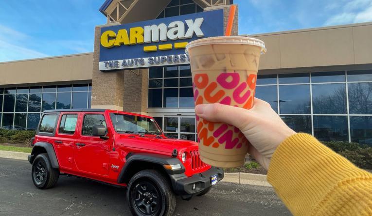 Dunkin' and CarMax.