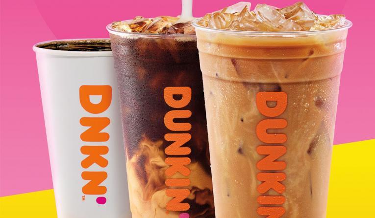 Dunkin' Coconutmilk beverages.