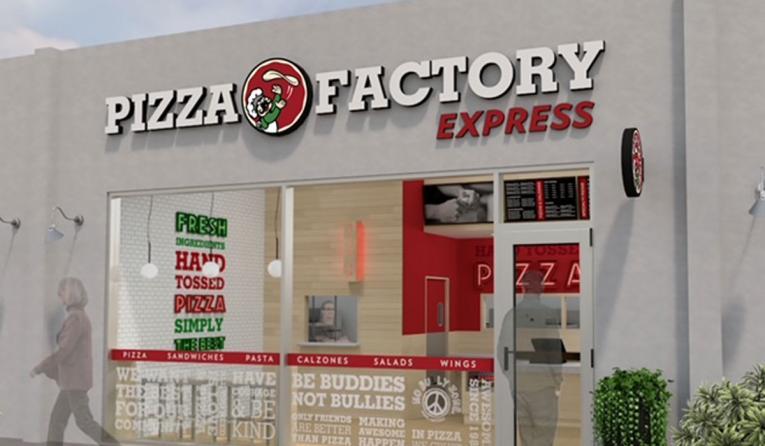 Pizza Factory rendering.