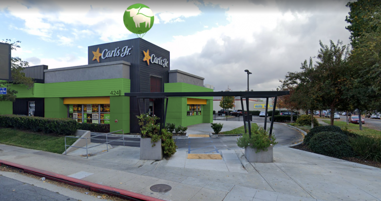 """Carl's Jr. restaurant turning """"green"""" in honor of Earth Day"""