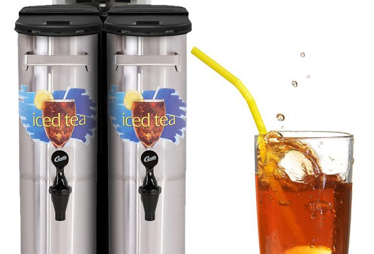 Curtis Iced Tea Dispensers.