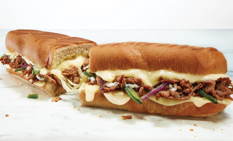 Subways Fresh Melts sandwich.