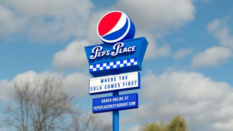 Pepsi Peps place.