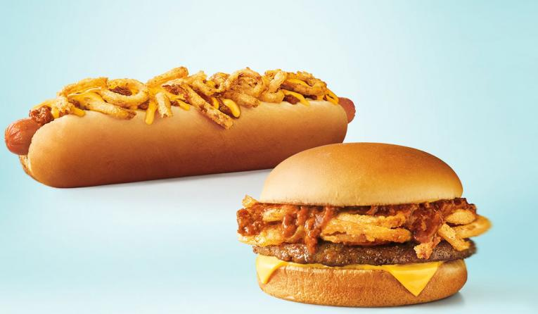 Sonic Drive-In Twisted Texan Cheeseburger.