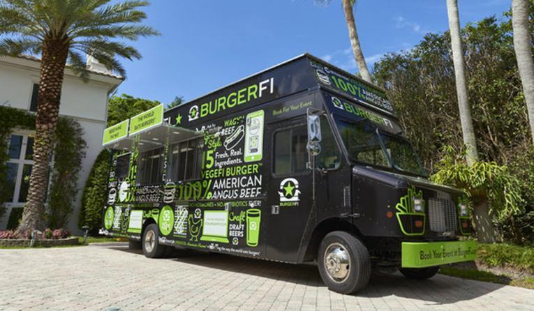 BurgerFi Food Truck