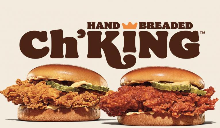 Burger King's New Ch'King Sanwich