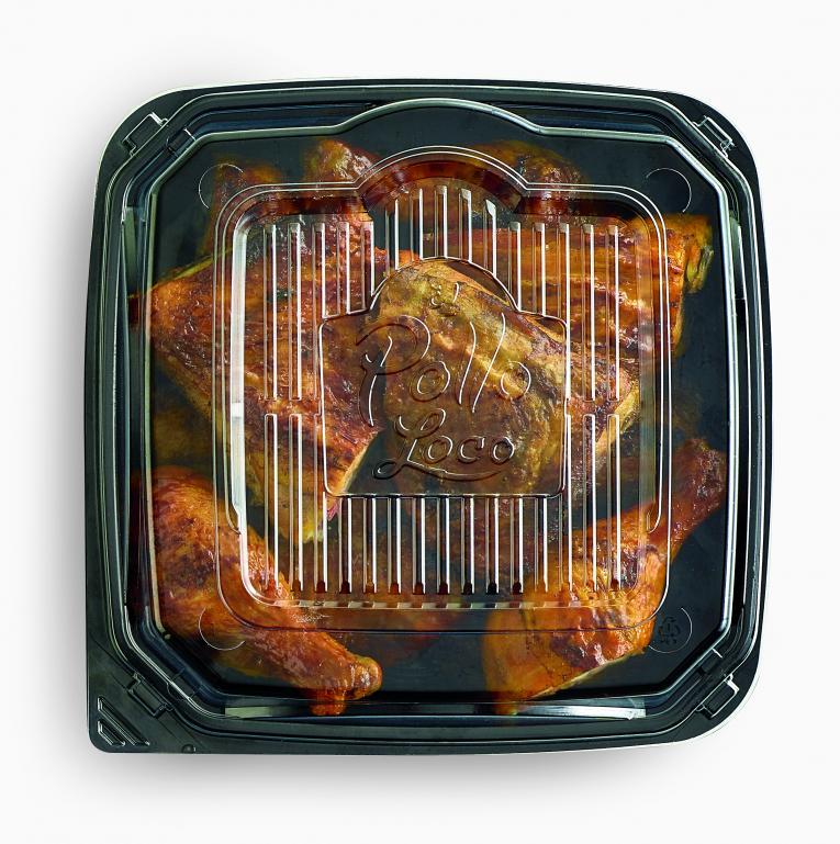 El Pollo Loco's new eco-friendly packaging.