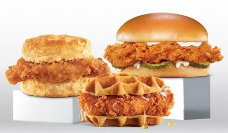 Hardees, Carl's Jr. Chicken Sandwich Platform