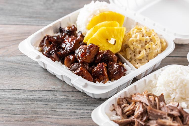 Hawaiian Bros food