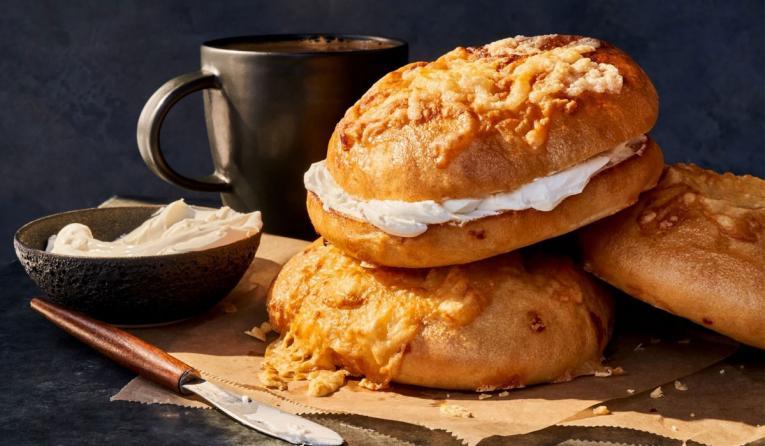 Panera Bread bagels.