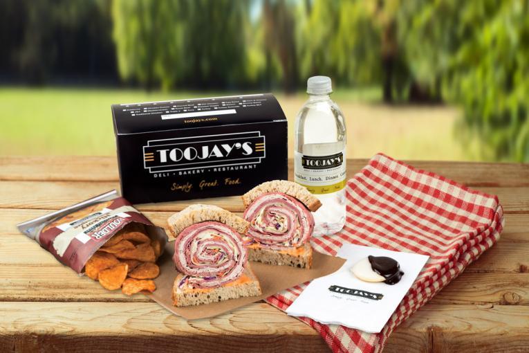 TooJay's Deli Summer Sandwich Boxes.