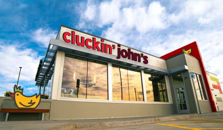 Cluckin John's.