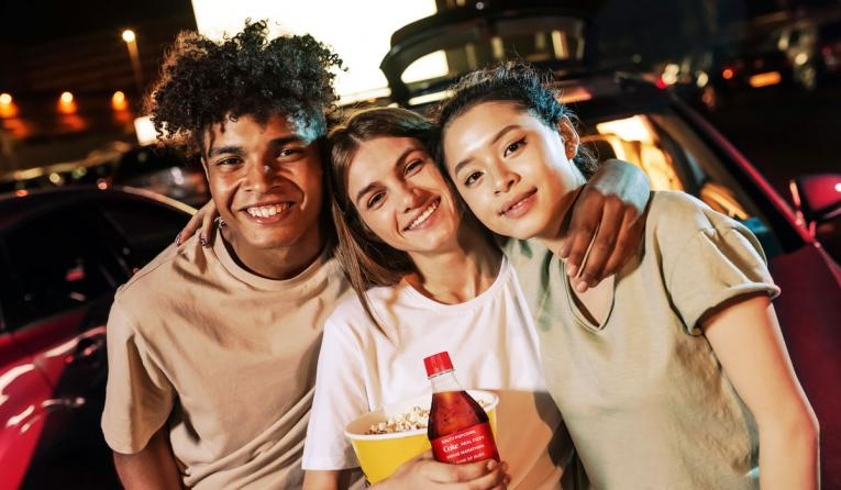 Coca-Cola lifestyle image.