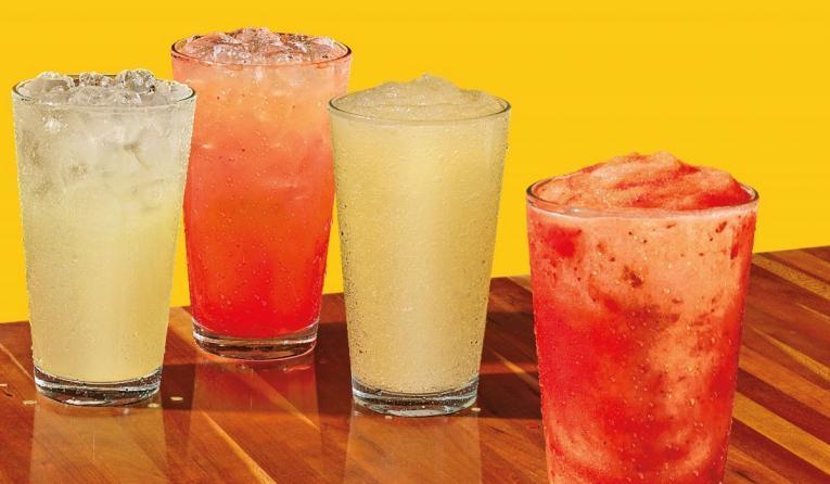 Popeyes lemonades.