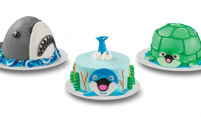 Baskin-Robbins Creature Creations Cakes