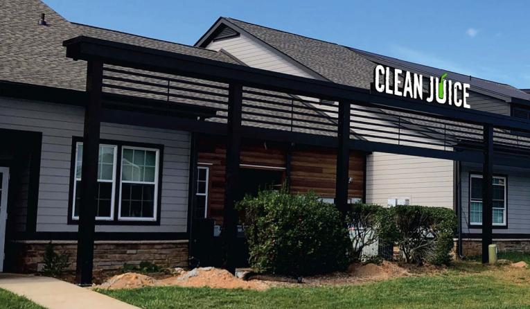 Clean Juice's flagship location