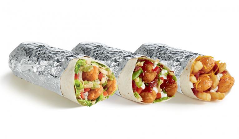Del Taco's new burritos