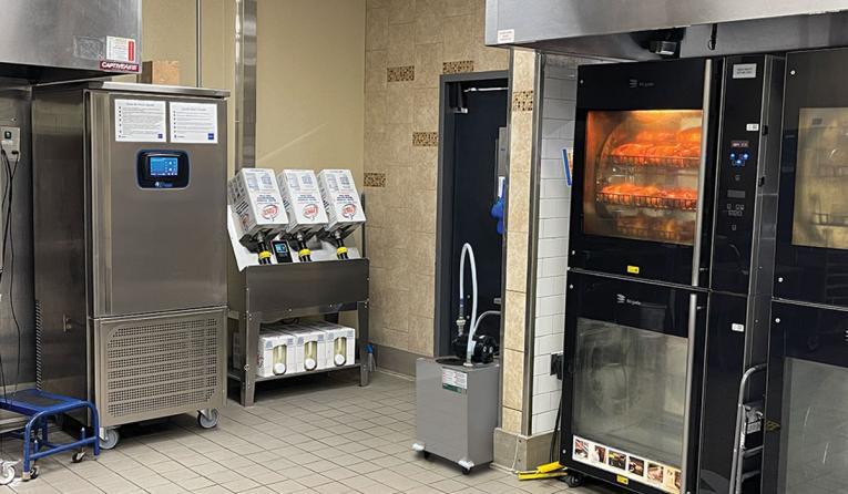 Frontline International's Direct Plumb Oven System