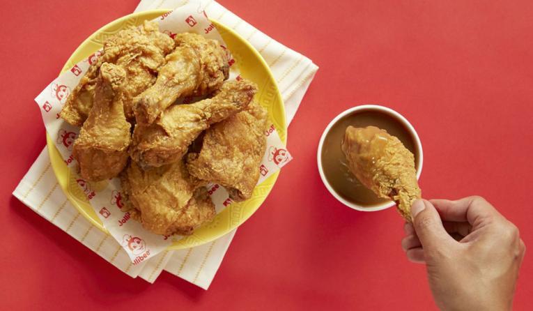 Jollibee fried chicken