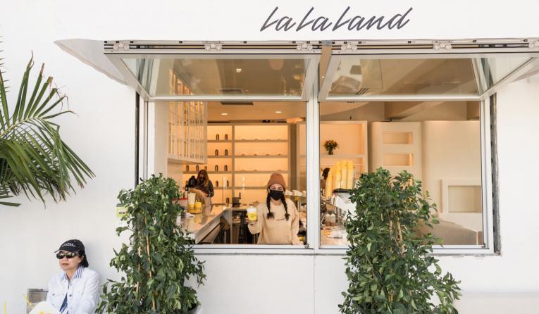 La La Land Kind Cafe exterior
