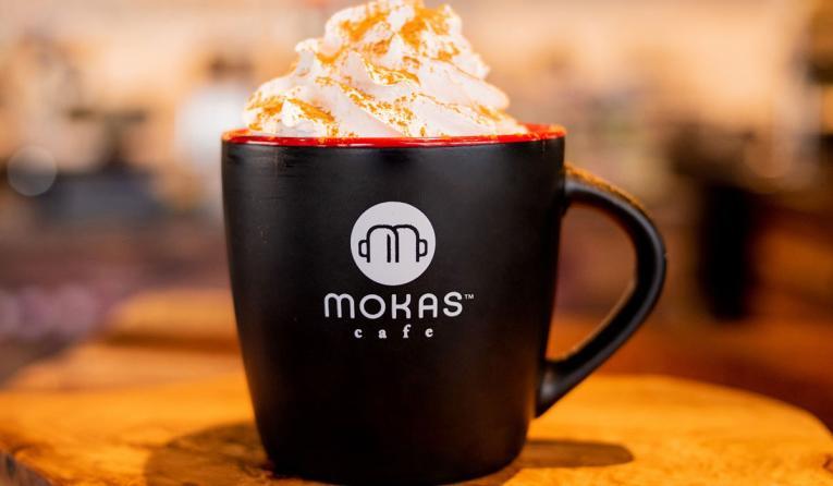 Mokas Café mug