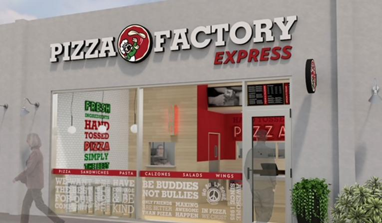Pizza Factory Express rendering