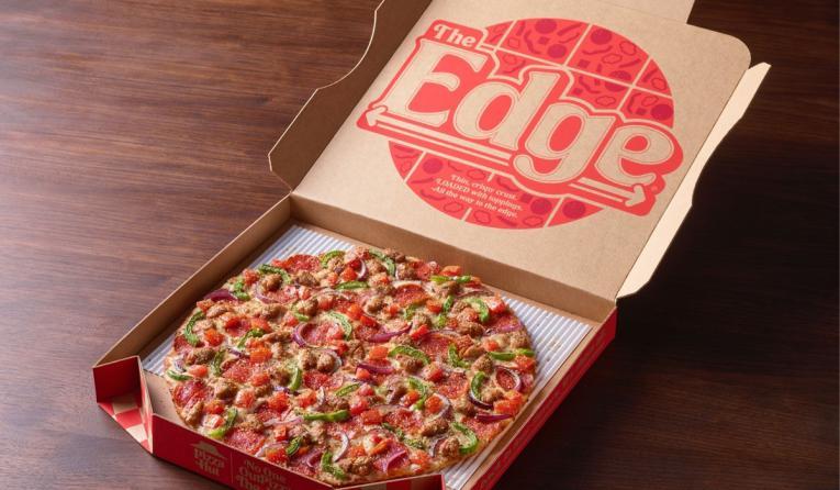 Pizza Hut's the Edge pizza
