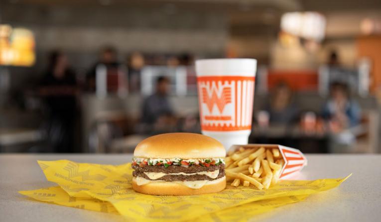 Whataburger Pico Burger