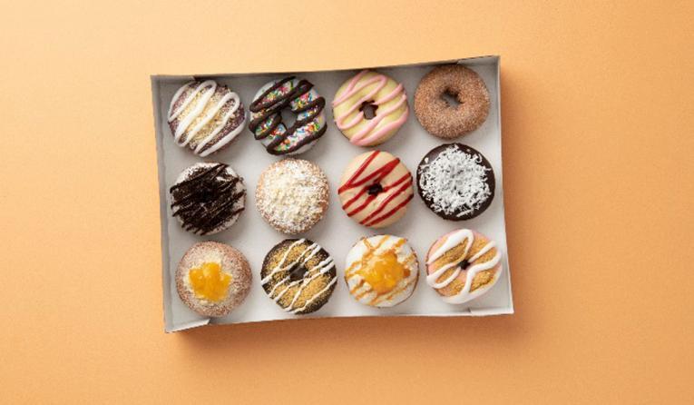 Duck Donuts box.