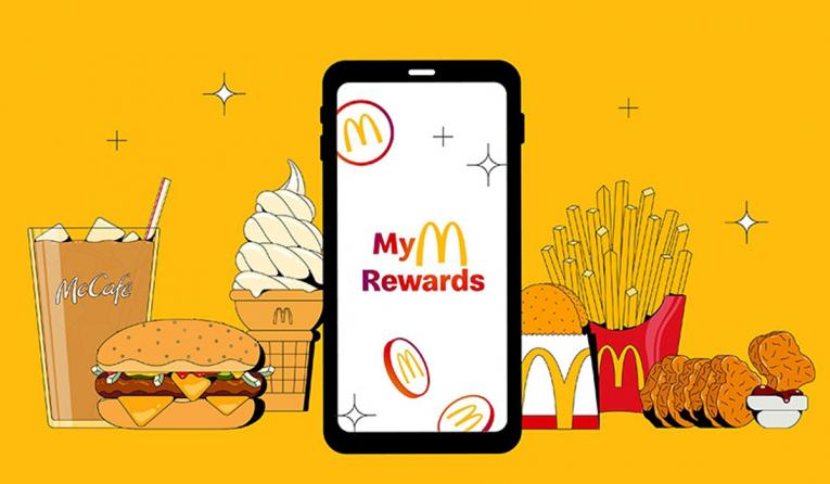 McDonald's rewards.