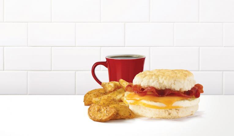 Wendy's breakfast.