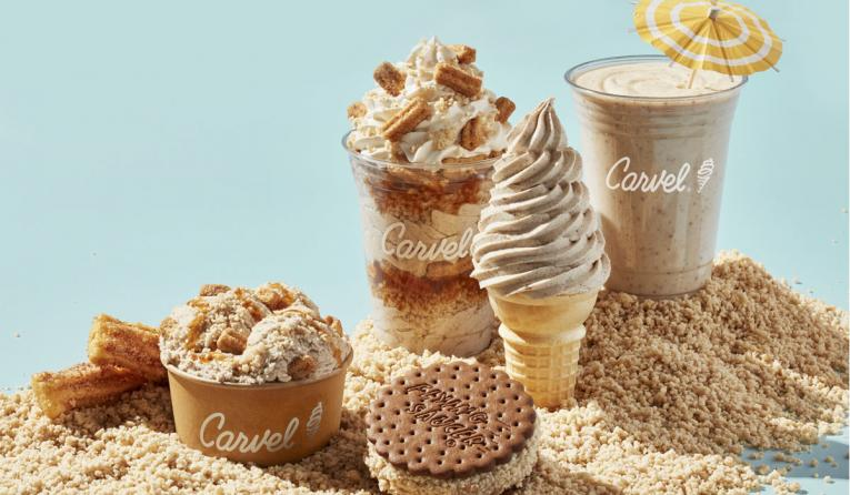Carvel churro products