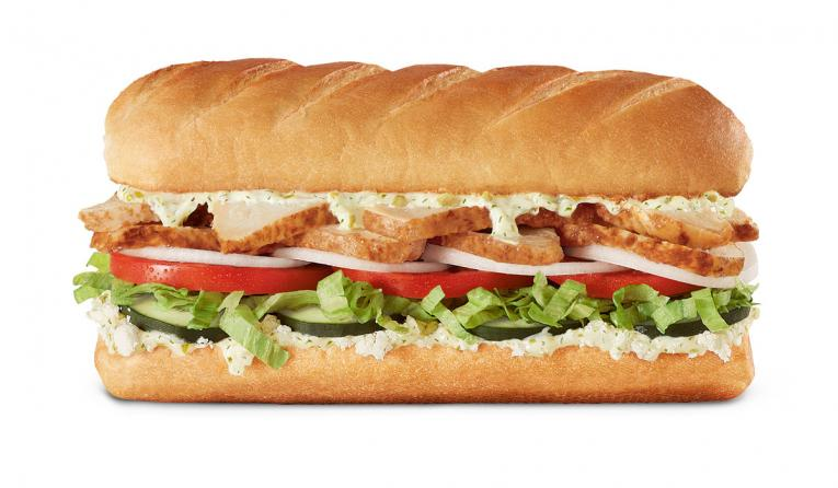 Firehouse Subs Chicken Gyro