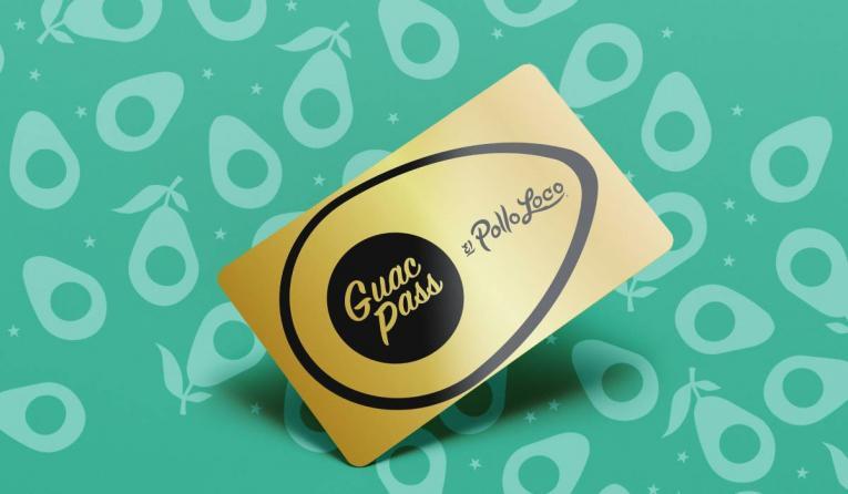 El Pollo Loco's guac card