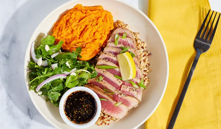 Modern Market's line-caught tuna bowl
