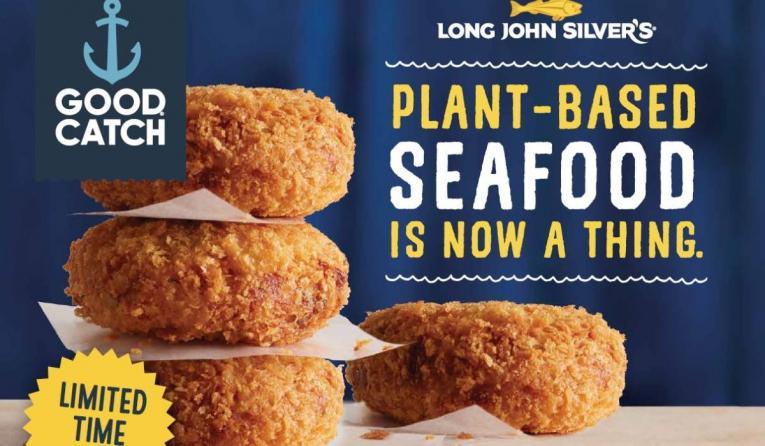 Long John Silver's plant-based menu items