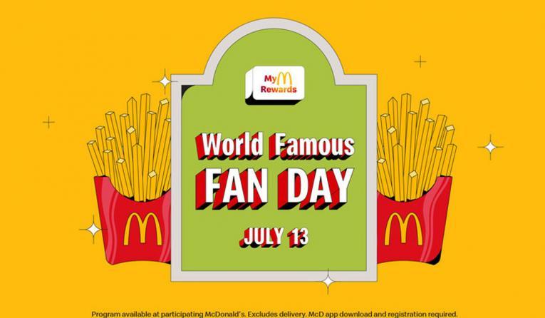 McDonald's World Famous Fan Day