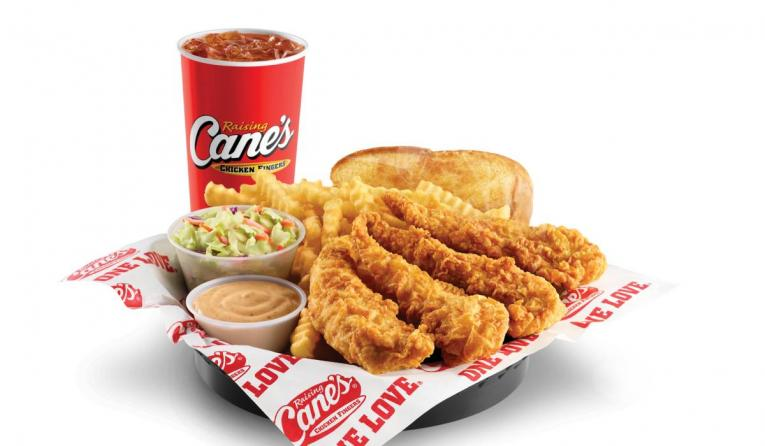 Raising Cane's combo meal