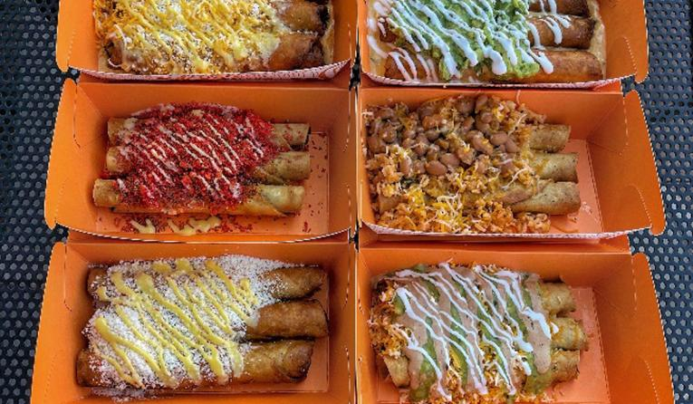 Roll-Em-Up Taquitos menu selections