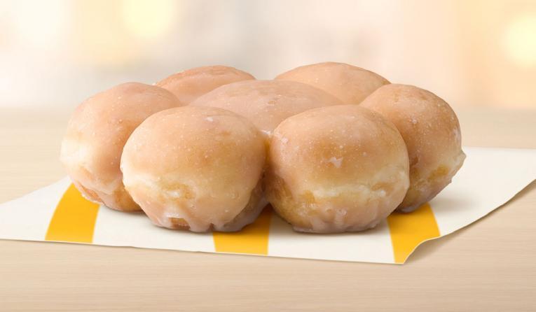 McDonald's Glazed Pull Apart Donuts.