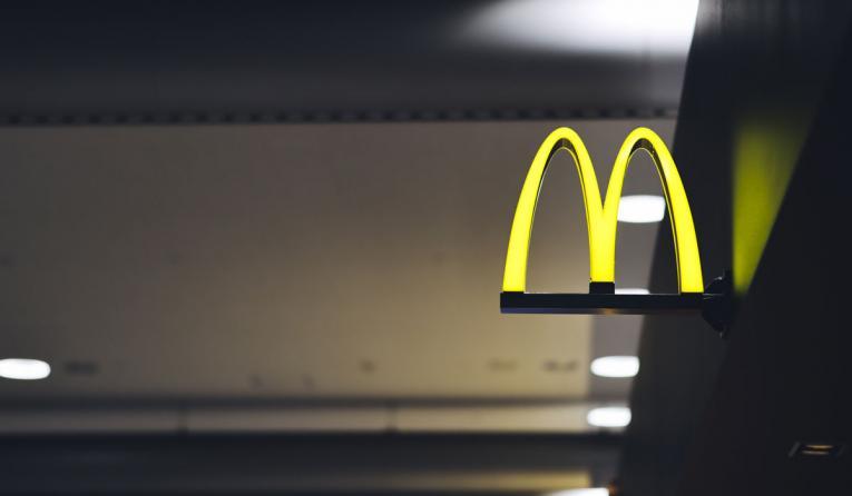 McDonald's logo.