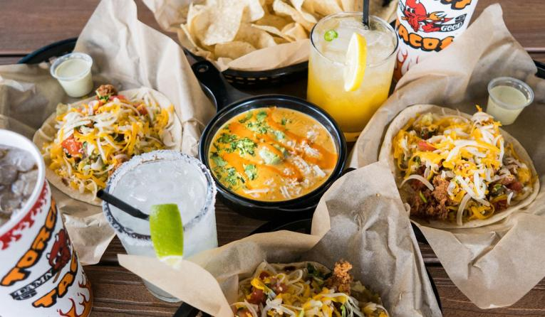 Torchy's Tacos food.