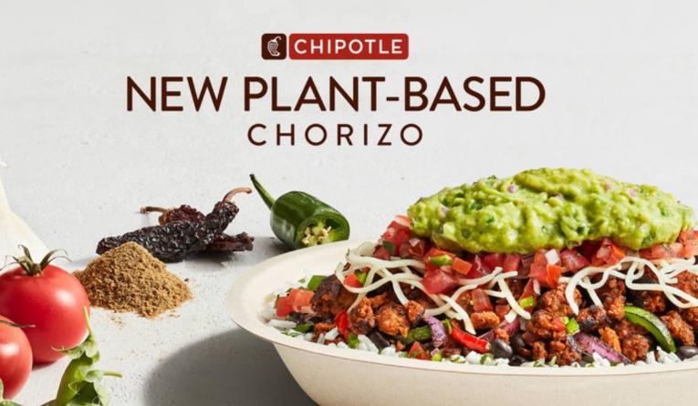 Chipotle Plant-Based Chorizo.
