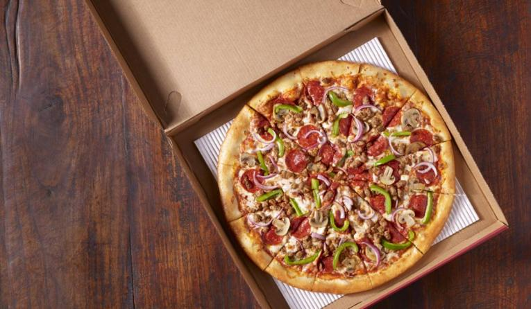 Cicis giant pizza.
