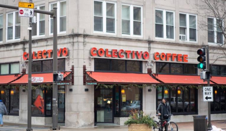 Colectivo Coffee exterior.