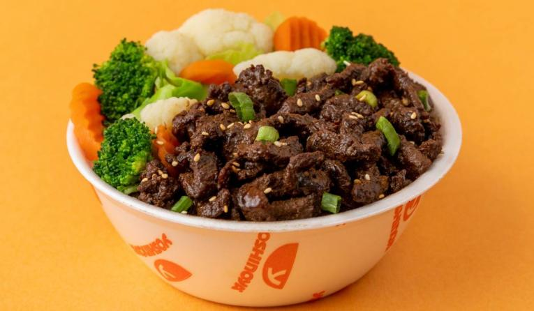 Grilled steak bowl