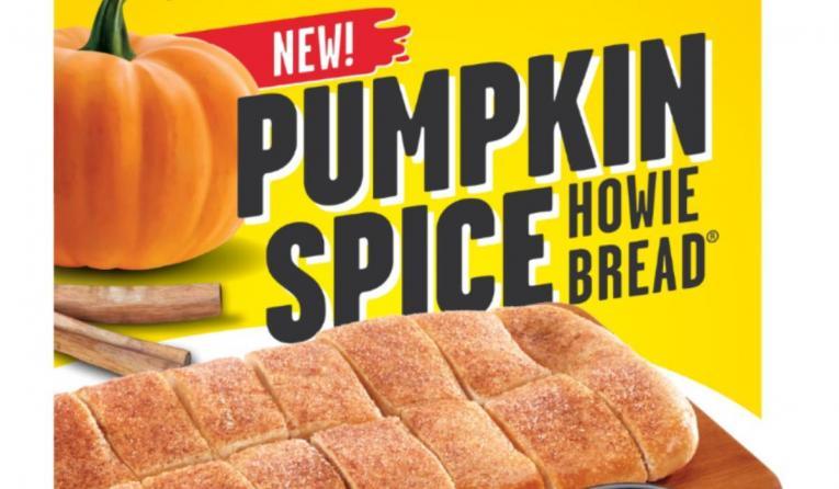 Hungry Howie's Pumpkin Spice bread